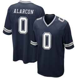 Isaac Alarcon Dallas Cowboys Youth Game Team Color Nike Jersey - Navy