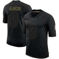 Isaac Alarcon Dallas Cowboys Youth Limited 2020 Salute To Service Nike Jersey - Black