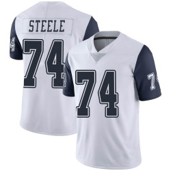 Terence Steele Dallas Cowboys Youth Limited Color Rush Vapor Untouchable Nike Jersey - White